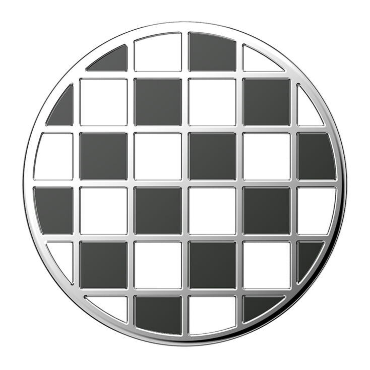 Checkered PopSockets Swappable PopGrip,