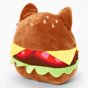 "Squishmallows™ 8"" Claire's Exclusive Catburger Plush Toy,"