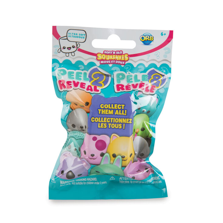 soft n slow squishies peel 2 reveal blind blag claire s us