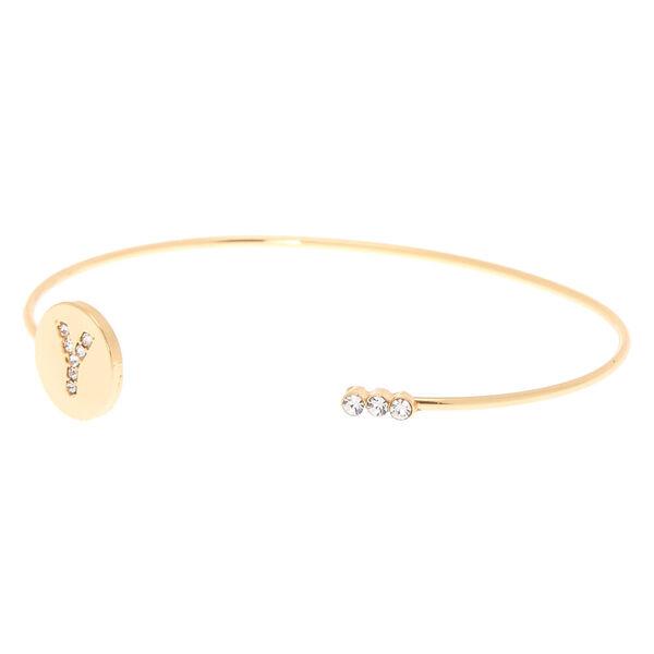 Claire's - initial cuff bracelet - 2