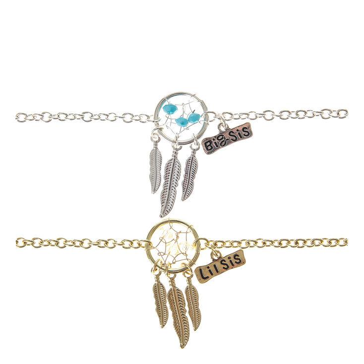 2 Pack Sisters Dreamcatcher Bracelets