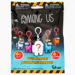 Toikido™ Among Us Plush Hangers Blind Bag - Styles May Vary,