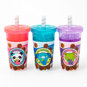 Shaker Drink Cup Lip Balm Set - 3 Pack,