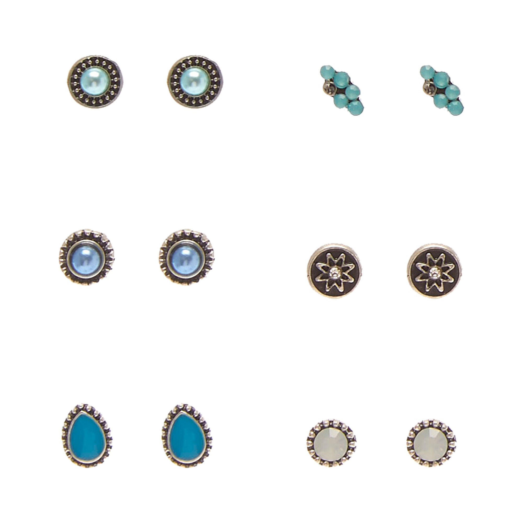 bonas jewellery stud oliver bar earrings gold turquoise taryn