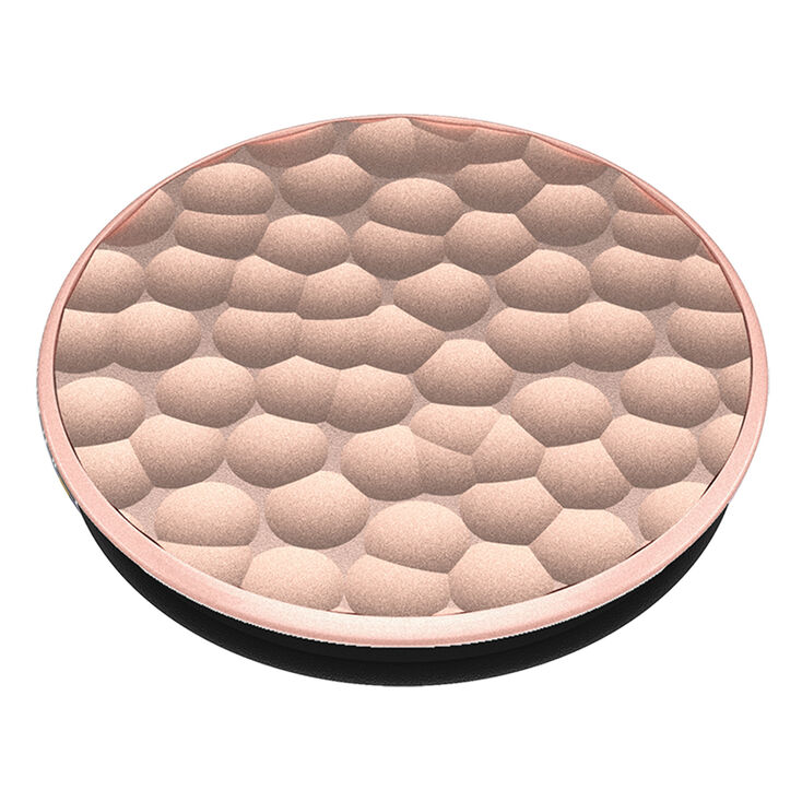 PopSockets Swappable PopGrip - Hammered Rose Gold,