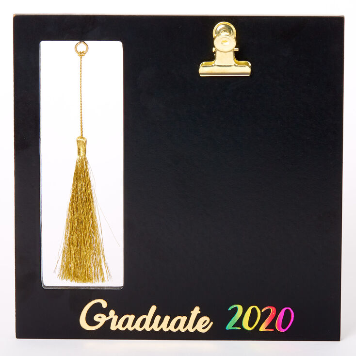 Graduate 2020 Tassel Frame Black Claire S Us