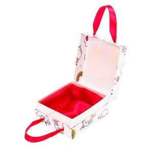 Medium Miss Glitter the Unicorn Gift Box - White,