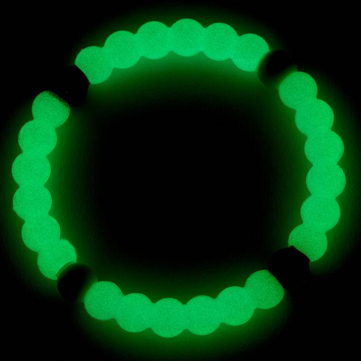 Glow In The Dark Imagine Fortune Stretch Bracelet - Blue,