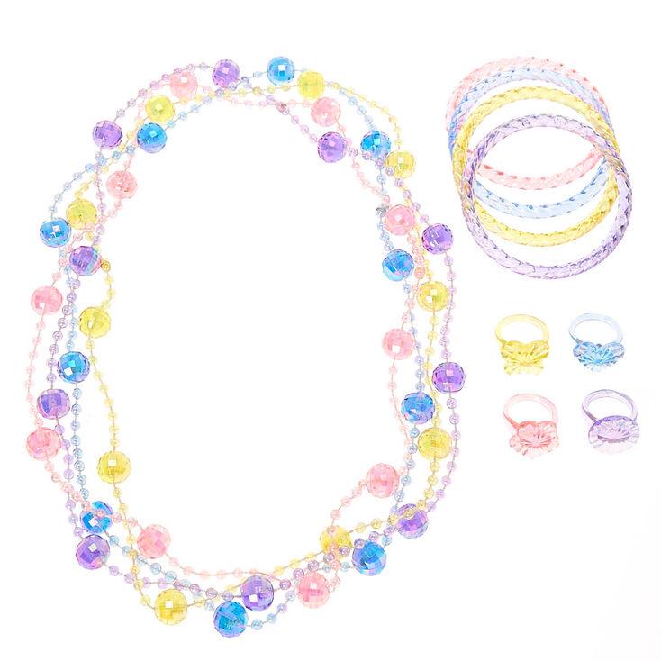Parure de bijoux printanière pastel pour enfants,