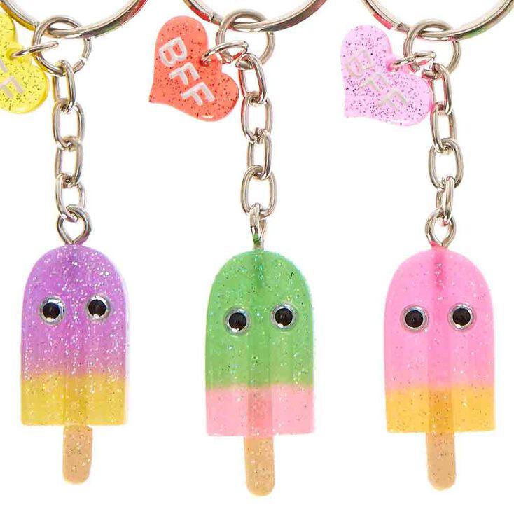 Kawaii Popsicle Keychain