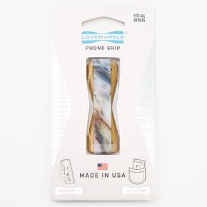 LoveHandle® Phone Grip - Marble Chic,