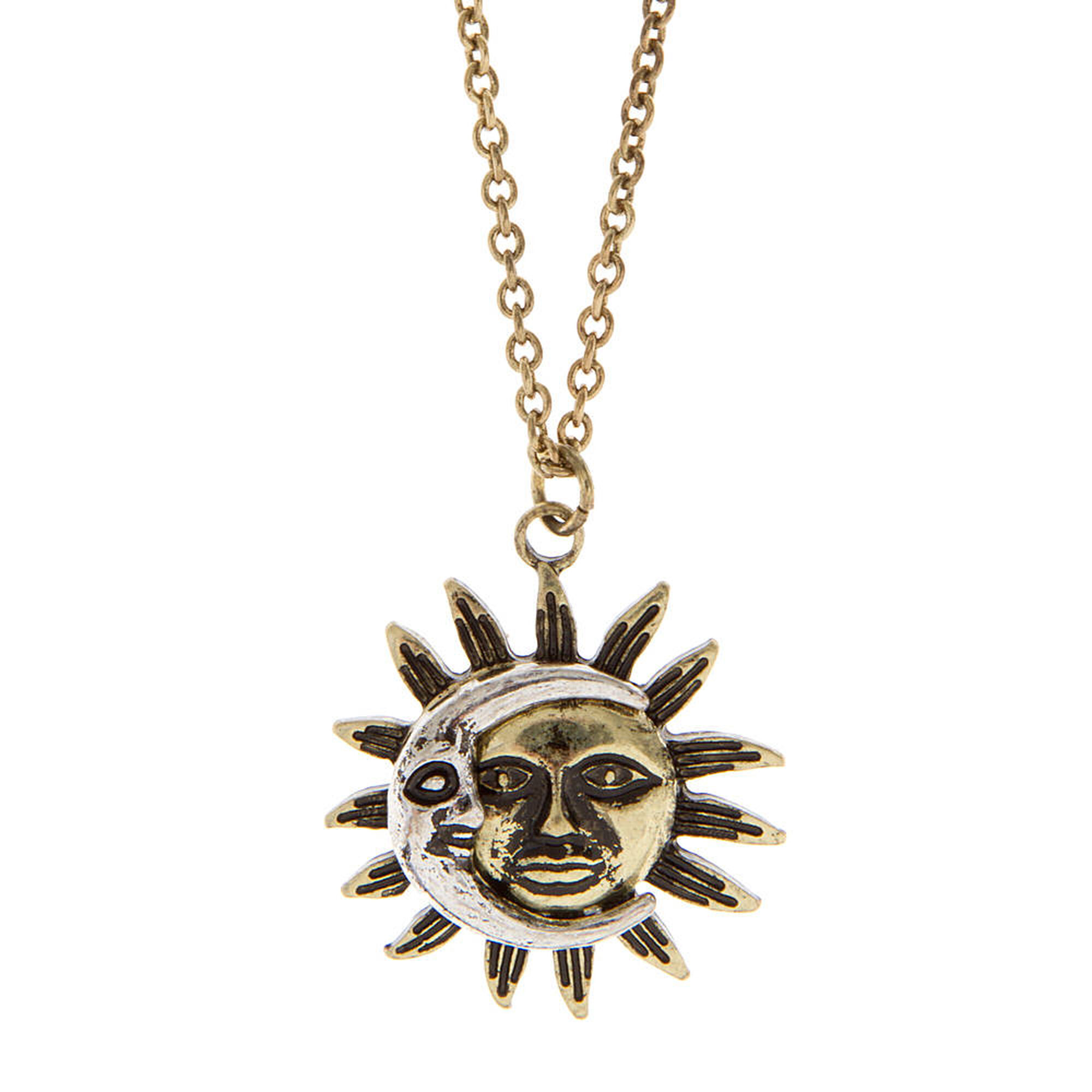 karryo operandi sun other by necklace vintage gold large karry moda o ysl