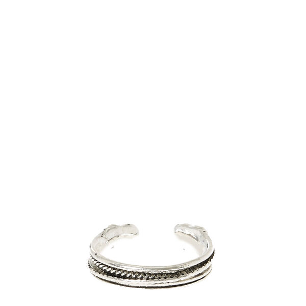 Claire's - toned texturized toe ring - 2