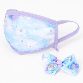 Jojo Siwa™ Marble Star Print Face Mask Set – Adjustable,