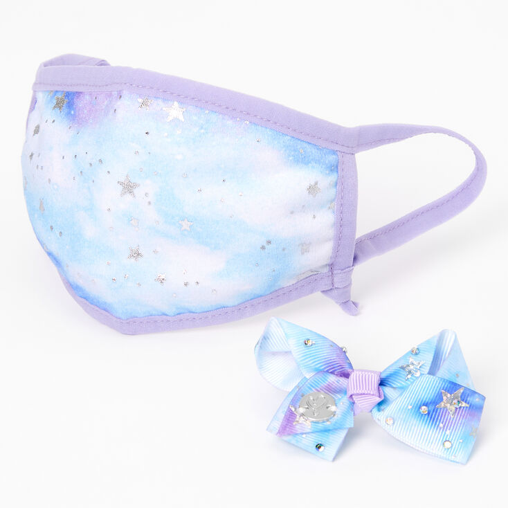 Jojo Siwa™ Marble Star Print Face Mask Set – Adjustable,