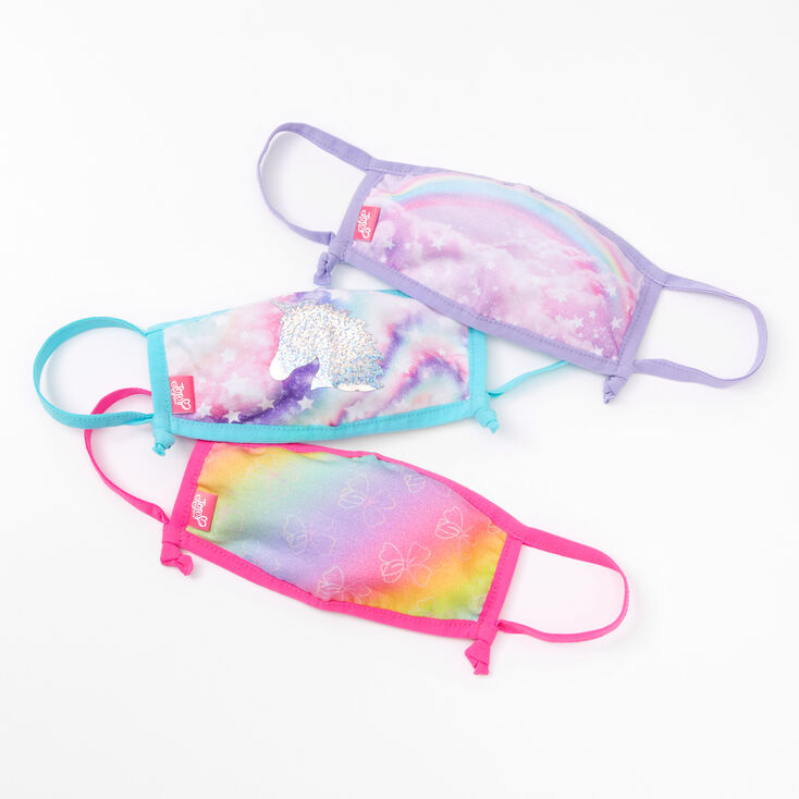 Jojo Siwa™ Face Masks - 3 Pack,