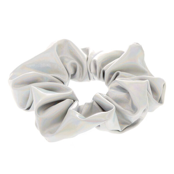 Claire's - holographic hair scrunchie - 2