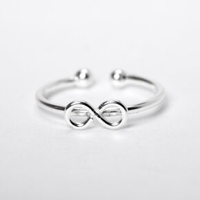 Sterling Silver Infinity Faux Hoop Nose Ring,