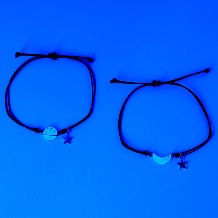Best Friends Moon & Planet Bracelets - 2 Pack,