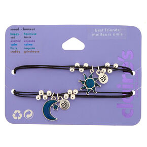 Mood Sun & Moon Friendship Bracelets - 2 Pack,