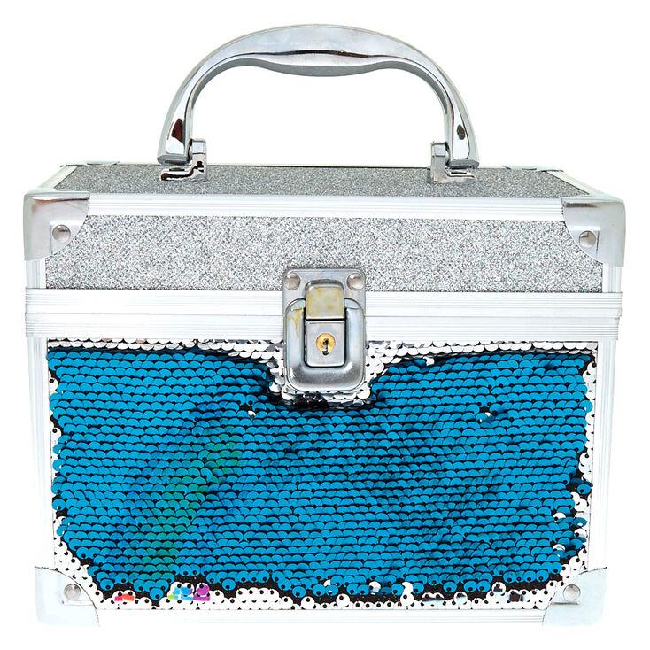 So Over It Reversible Sequin Lock Box,