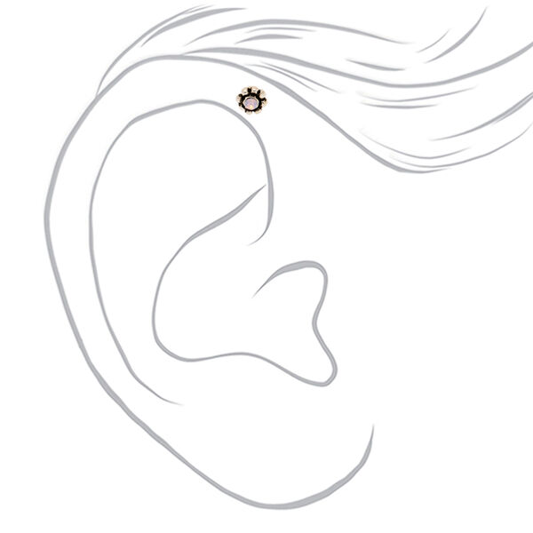 Claire's - 16g opal helix earring - 2