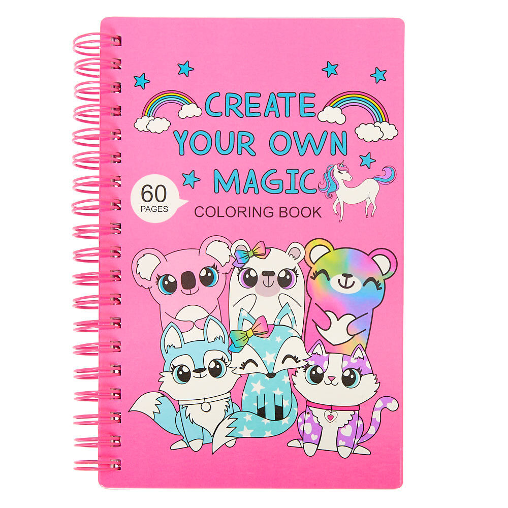- Create Your Own Magic Cuddle Club Coloring Book Claire's US