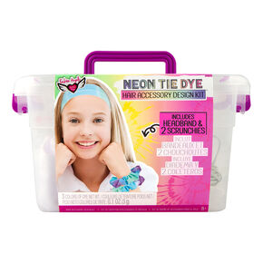 Fashion Angels® Neon Tie Dye Hair Accessory Design Kit,