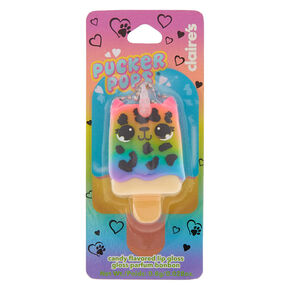 Pucker Pops Lulu the Leopard Lip Gloss - Candy,