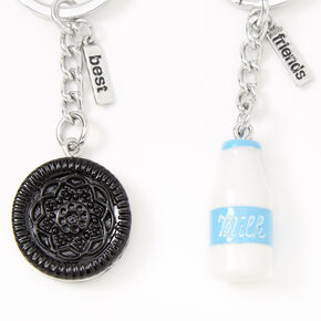 Milk & Cookies Best Friends Keychains - 2 Pack,