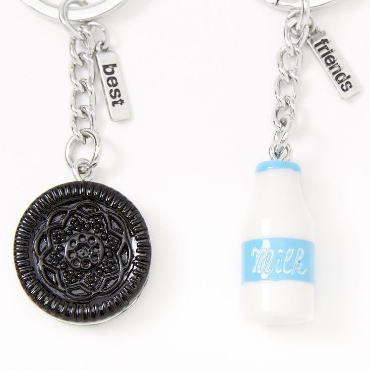 Milk & Cookies Best Friends Keychains - 2 Pack,
