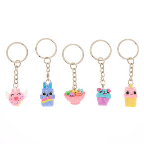 Best Friends Sweetimals Keychains - 5 Pack,