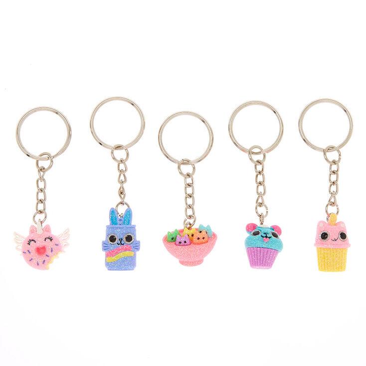 Best Friends Sweetimals Keychains - 5 Pack,
