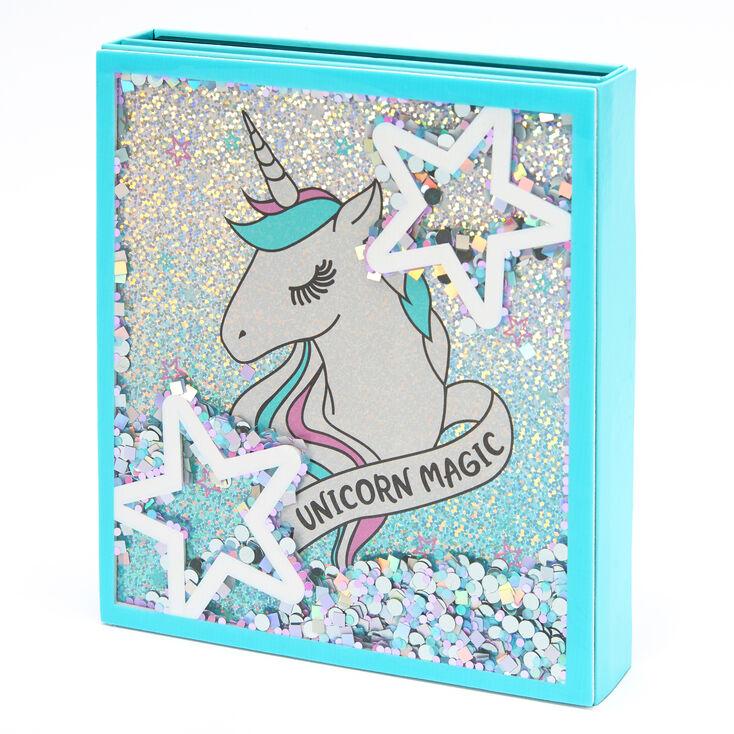 Unicorn Magic Shaker Glitter Makeup Set,