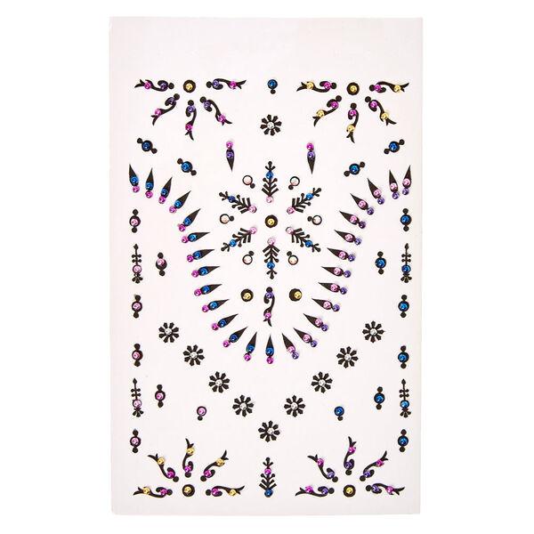 Claire's - multi-pattern skin gems - 1
