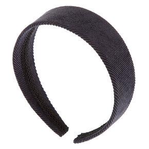 Corduroy Headband - Navy,