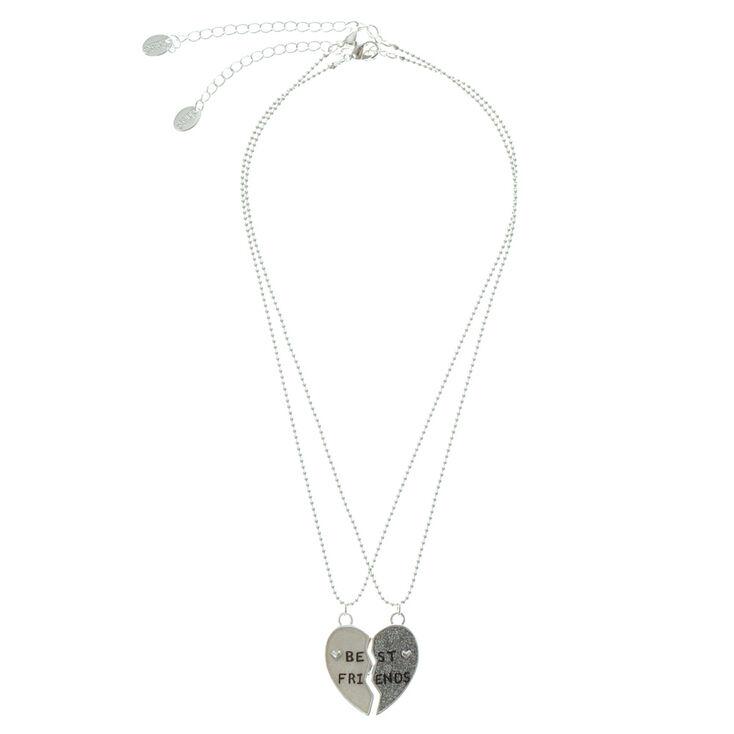 Broken Heart Best Friends Necklaces,