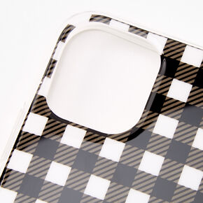 Gingham Cherry Ring Holder Protective Phone Case - Fits iPhone 11,
