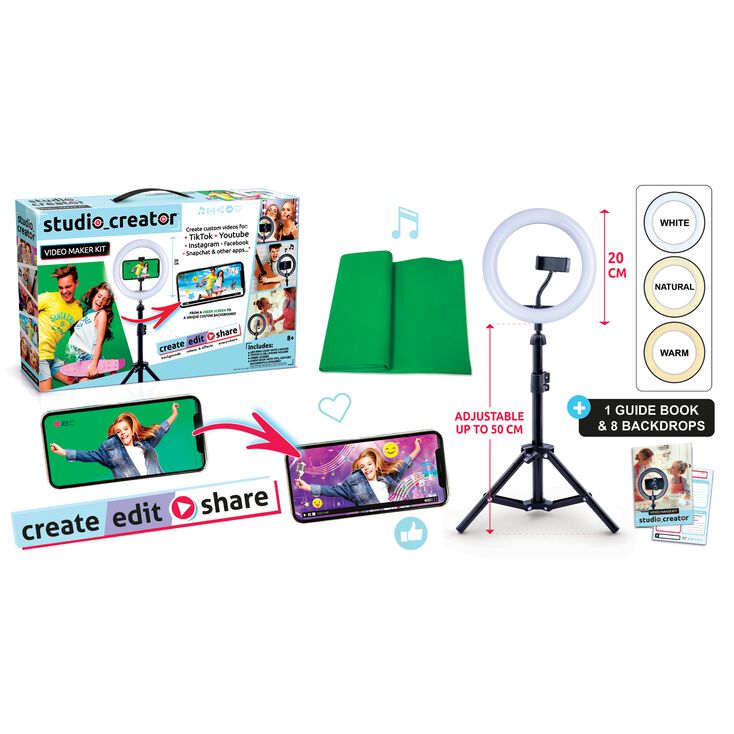 Studio Creator™ Video Maker Kit,