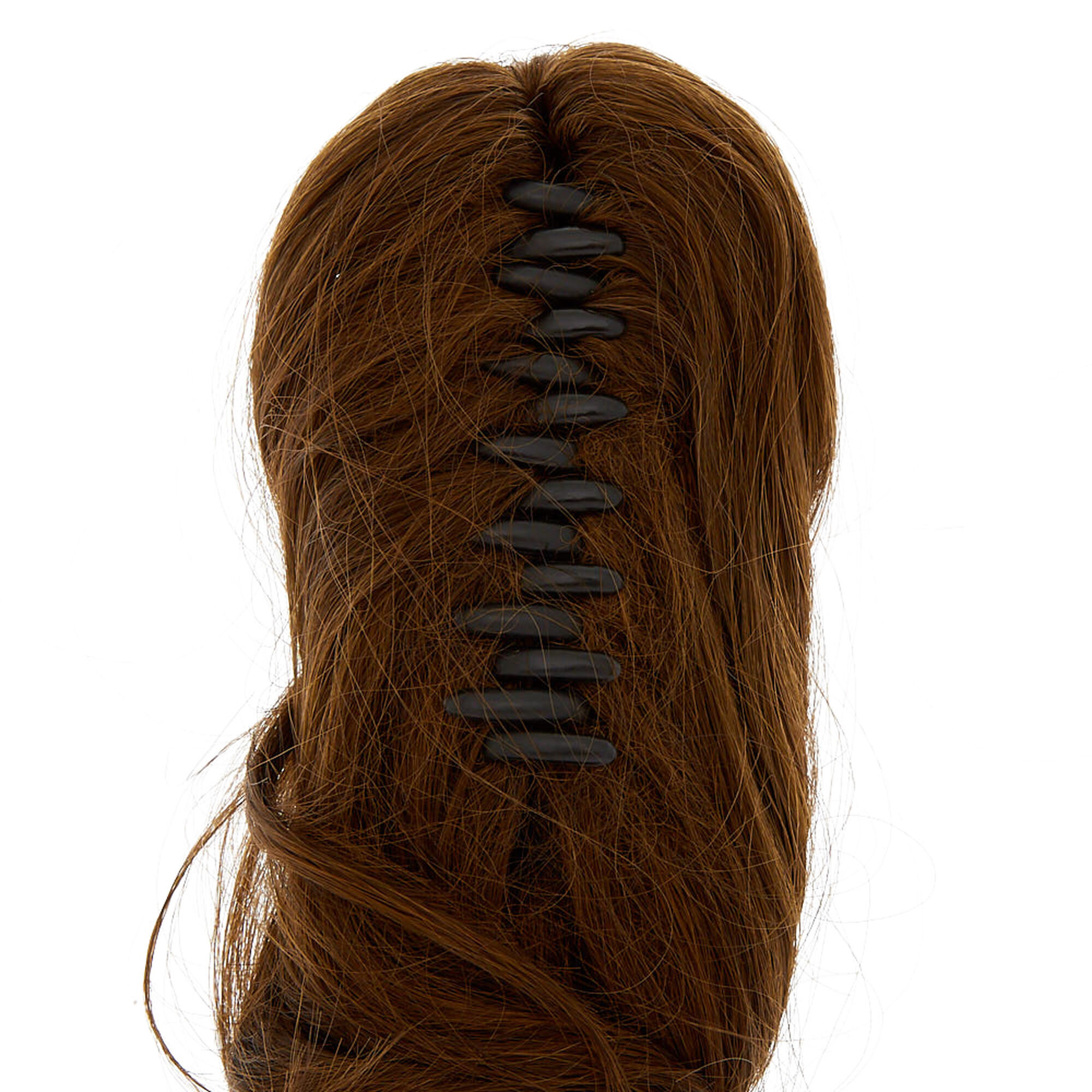 Short Faux Hair Extensions Ponytail Claw Brown Claires