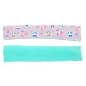 Cuddle Club Critter Pastel Headwraps - 2 Pack,