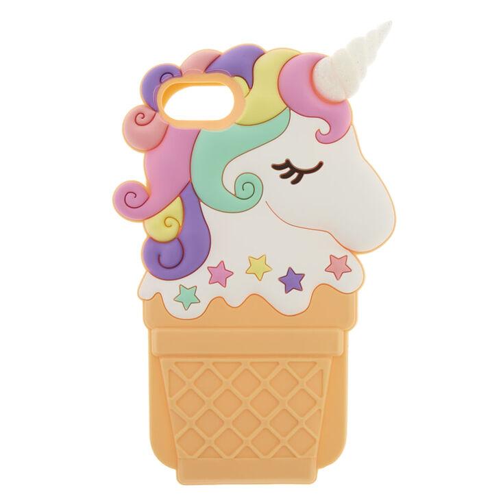discount sale aadb2 adee2 Unicorn Ice Cream Cone Phone Case