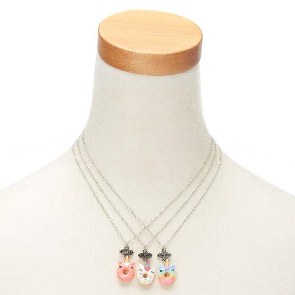 Claire's - best friends unicorn donut necklaces - 2