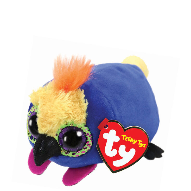 Claire s Teeny Ty Diva The Parrot Soft Toy  2002ef3326a