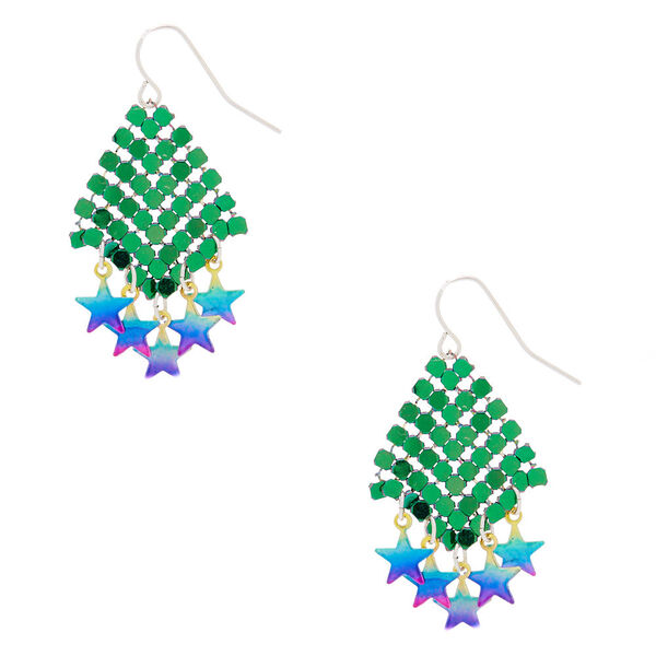 """Claire's - 1.5"""" star power drop earrings - 1"""