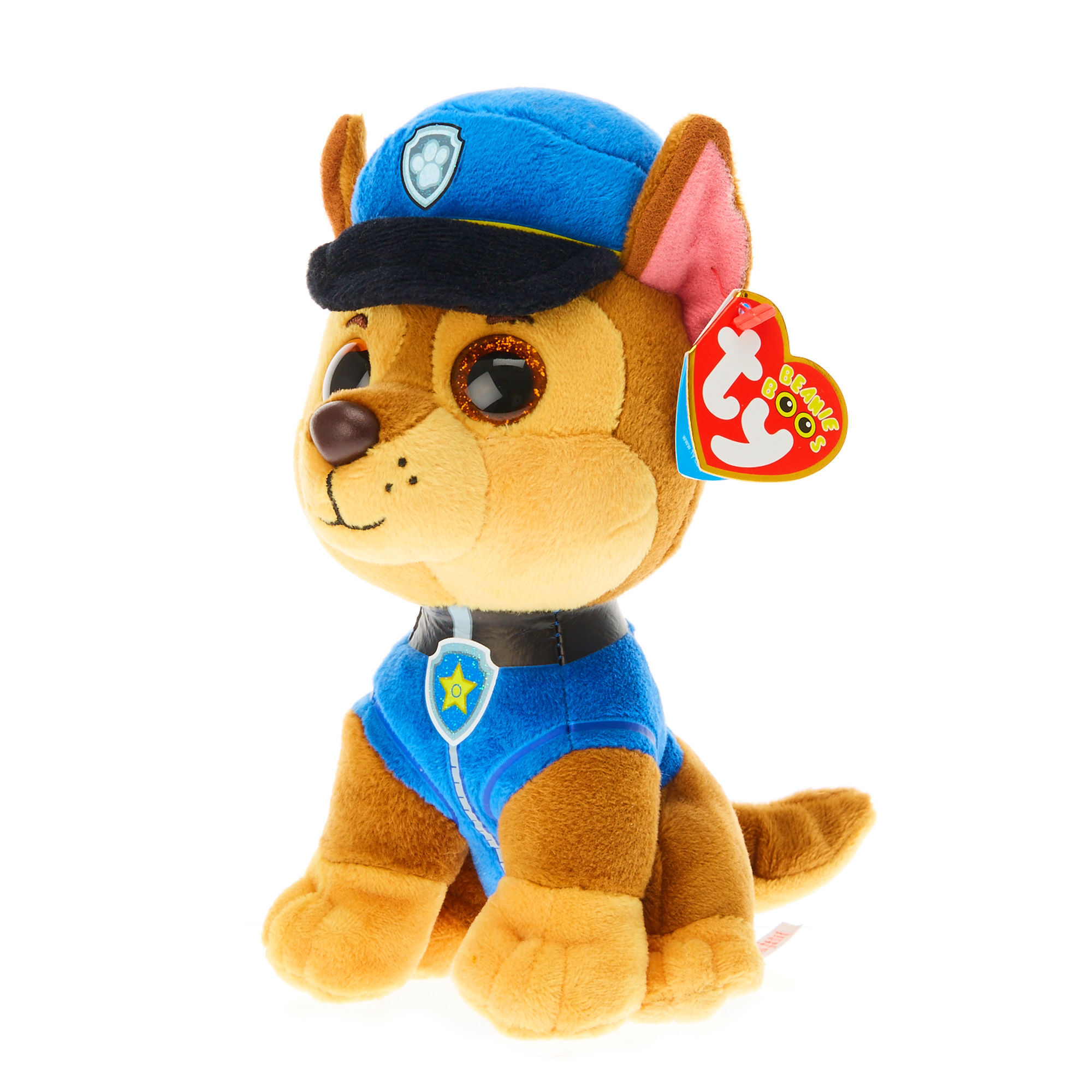 ... Ty Beanie Boo Paw Patrol Small Chase Plush Toy e01535bb899