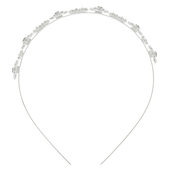 Claire's - frosted flower headband - 2