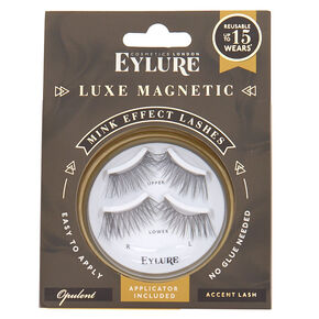 Eylure Luxe Magnetic Mink Accent Lashes - Opulent,