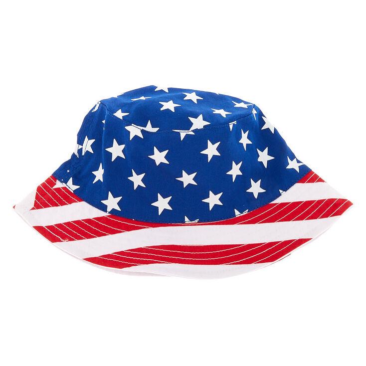9fa8ad5ffc3 American Flag Reversible Bucket Hat