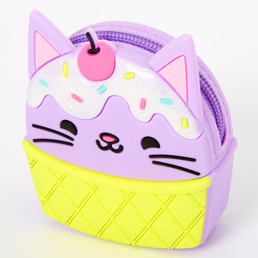Catticone Jelly Coin Purse - Purple,